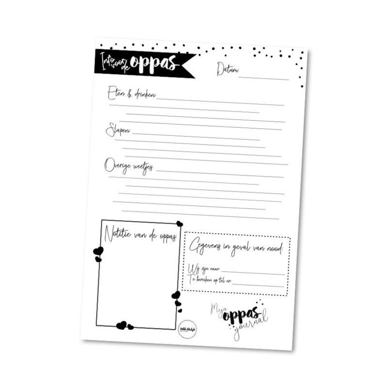 Oppas journal