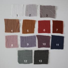 Aankleedhoes Hydrofiel  (diverse kleuren)