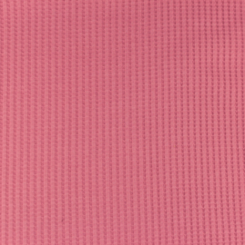 Snoozy fabrics Wafel jersey Blush