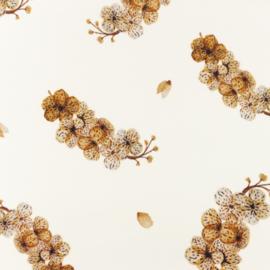 Snoozy fabrics Tricot digitaal Sedna bloem