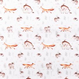 Snoozy fabrics Poplin digital Vos & ree klein