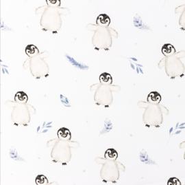 Snoozy fabrics Poplin Penguin baby