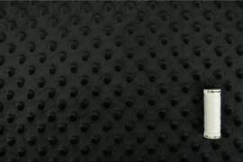 Minky fleece Zwart