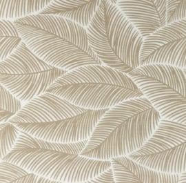 Snoozy Poplin bedrukt blad