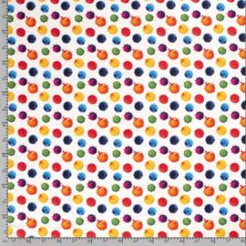 Tricot Digitaal Kleurrijke dots