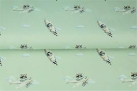 Stenzo poplin Cats in space
