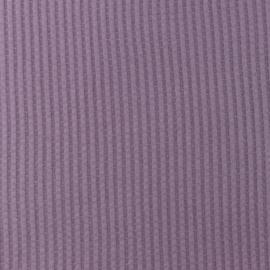 Snoozy fabrics Wafel jersey Lavendel