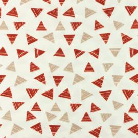 Hydrofiel Printed Triangle 2 color Sand