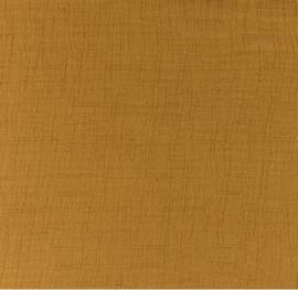 Snoozy fabrics Bamboe Hydrofiel donker camel