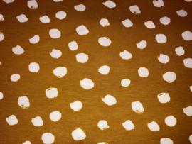 Tricot Oker met witte stip