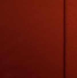Brushed tricot Brique