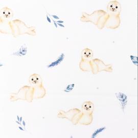 Snoozy fabrics Poplin digital Oliver
