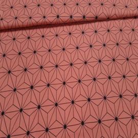 Katoen Tricot Grafische ster