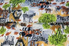 Stenzo tricot Jungle print grof