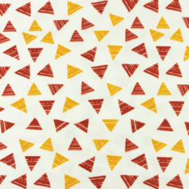 Tricot Printed Triangle