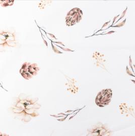 Snoozy fabrics Poplin digital Winterbloem