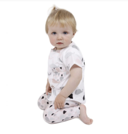 Patroon Baby/peuter t-shirt
