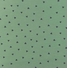 Poplin Printed Triangel fijn