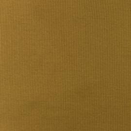 Snoozy fabrics Rib jersey olijf