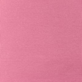 Snoozy fabrics Rib jersey Donker oudroze