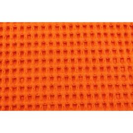 Wafelstof FIJN Oranje