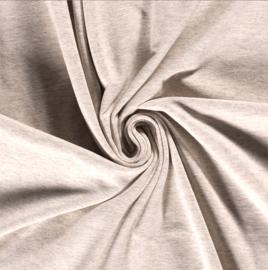 Tricot uni softtone Beige
