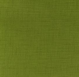 Snoozy fabrics Bamboe Hydrofiel olijf