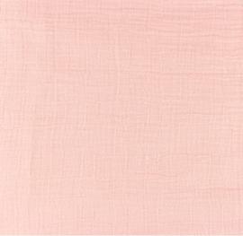 Snoozy fabrics Bamboe Hydrofiel baby roze