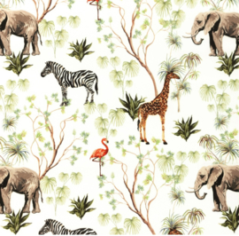 Snoozy Poplin Zebra