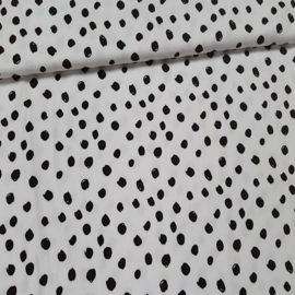 Katoen Tricot dots