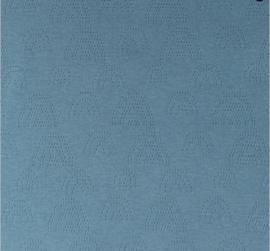 Katoen Fijn gebreid Ajour  Regenboogjes jeans