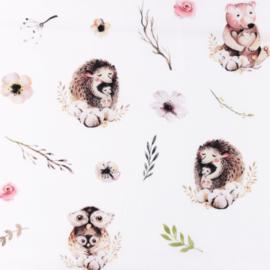 Snoozy fabrics Poplin digital Ayla