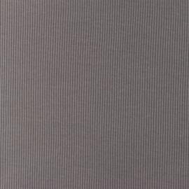 Snoozy fabrics Rib jersey Grijs