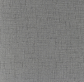 Snoozy fabrics Bamboe Hydrofiel grijs