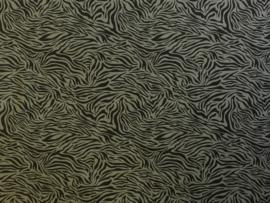 Qjutie tricot zebraprintje