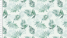 Tricot Palm leaves