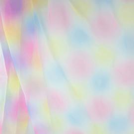 Tule Regenboog color 2