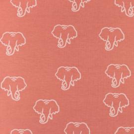 Snoozy fabrics Tricot Olifant silhouette
