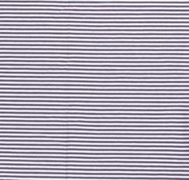Katoen Tricot streepje 6 mm