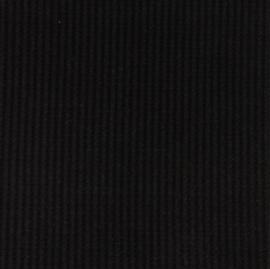 Snoozy fabrics Wafel jersey Zwart