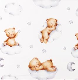 Snoozy fabrics Poplin digital Cloudy bears