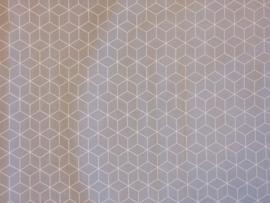Katoen hexagon FIJN