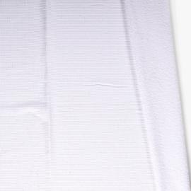 Wafel katoen met badstof Wit