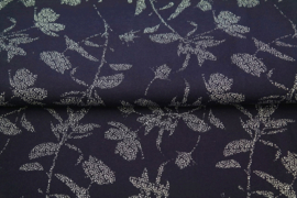 Stenzo tricot Snow White flowers