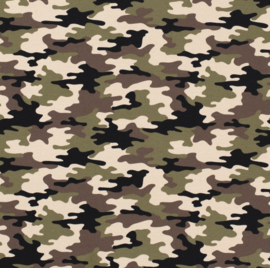 French terry Camouflage