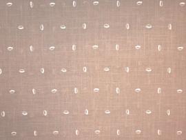 Aruba embroidery Beans beige