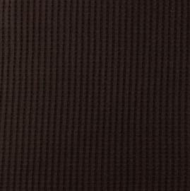 Snoozy fabrics Wafel jersey Choco
