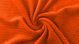 Tricot rib GROF oranje