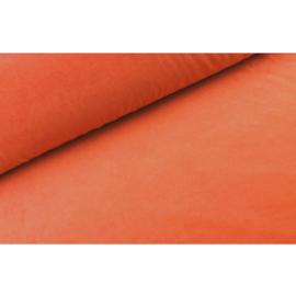 Nicky velours Oranje roest