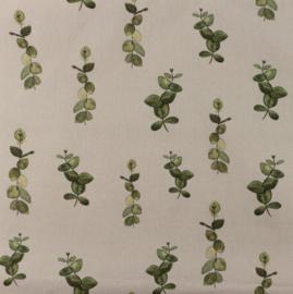 Snoozy fabrics Poplin digital Takje taupe